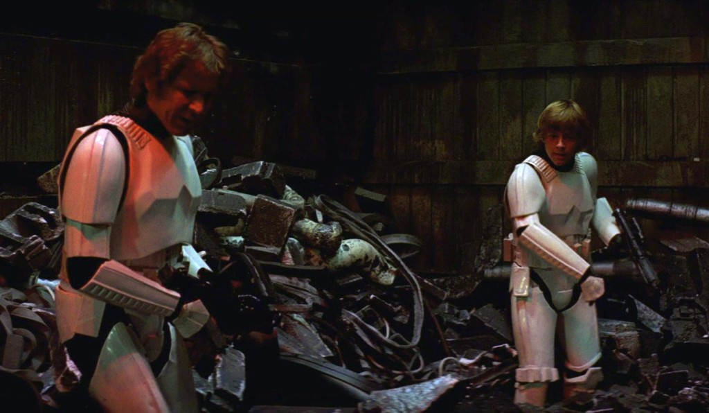 Death Star Trash Compactor